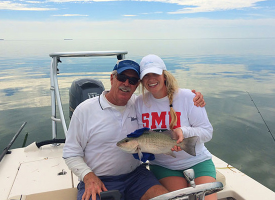 Great day on the water with Florida Keys' Guide Captain Bob Baker